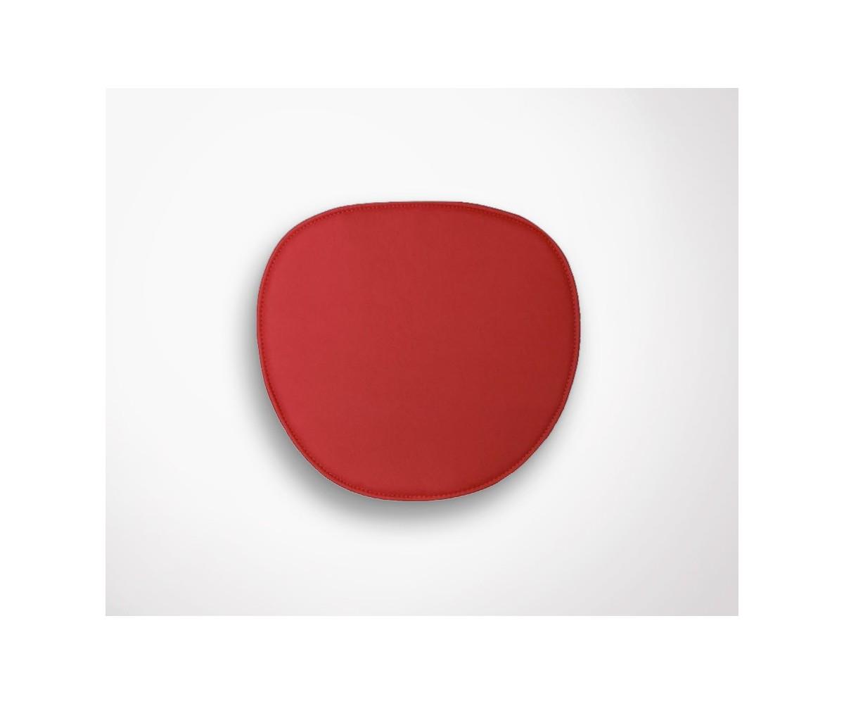 Galette Design En Simili Cuir Pour Chaise DSW Charles Eames