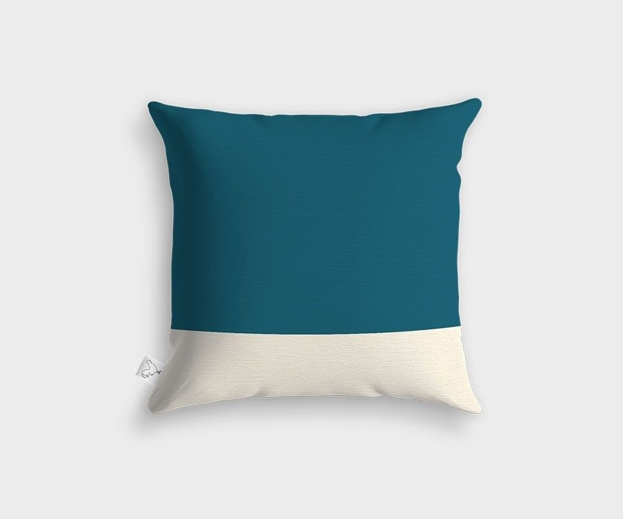 ... → Collections Phares > Coussin Basic RAYE COLVERT BLANC - 45x45cm