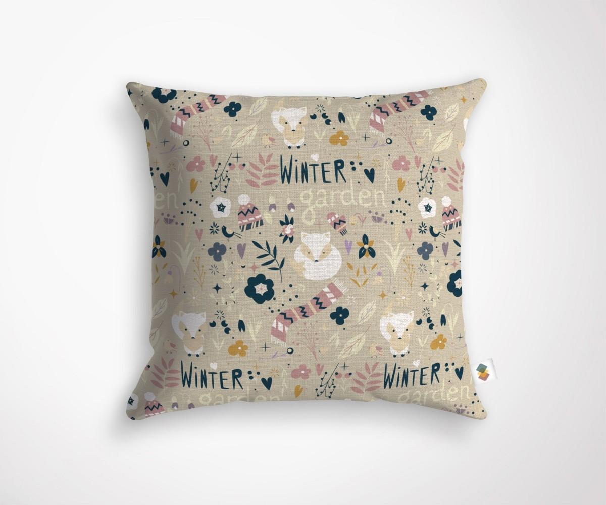 coussin design agathe hiver. Black Bedroom Furniture Sets. Home Design Ideas