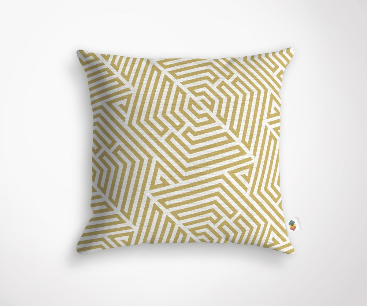 Coussin graphique styl taille 45x45cm made in france - Housse de coussin style campagne ...