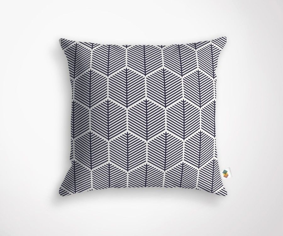 coussin d coration scandinave made in france de taille 45x45cm. Black Bedroom Furniture Sets. Home Design Ideas