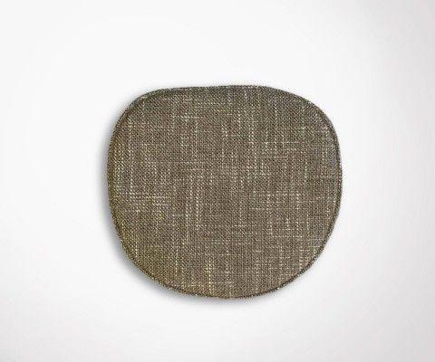 Galette chaise Eames - tissu chiné