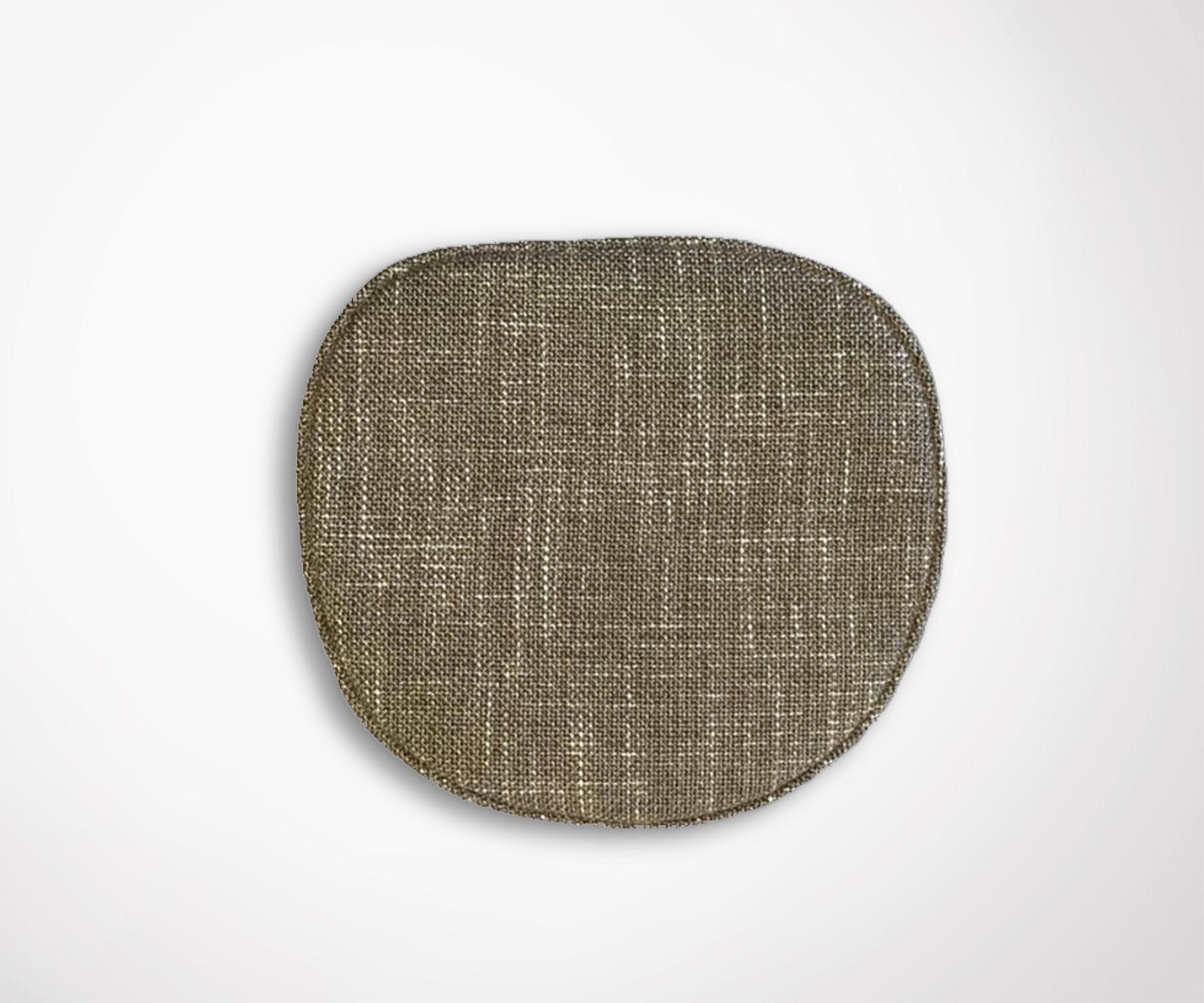 Galette Assise Chaise Eames Tissu Effet Tricote
