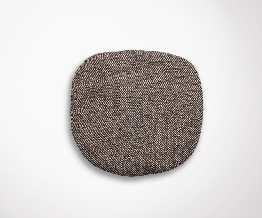 Housse coussin fauteuil tulip eero saarinen effet tissu laine for Housse coussin fauteuil