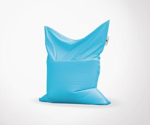 Pouf XXL in/ext - Bleu Ciel - 100x140cm