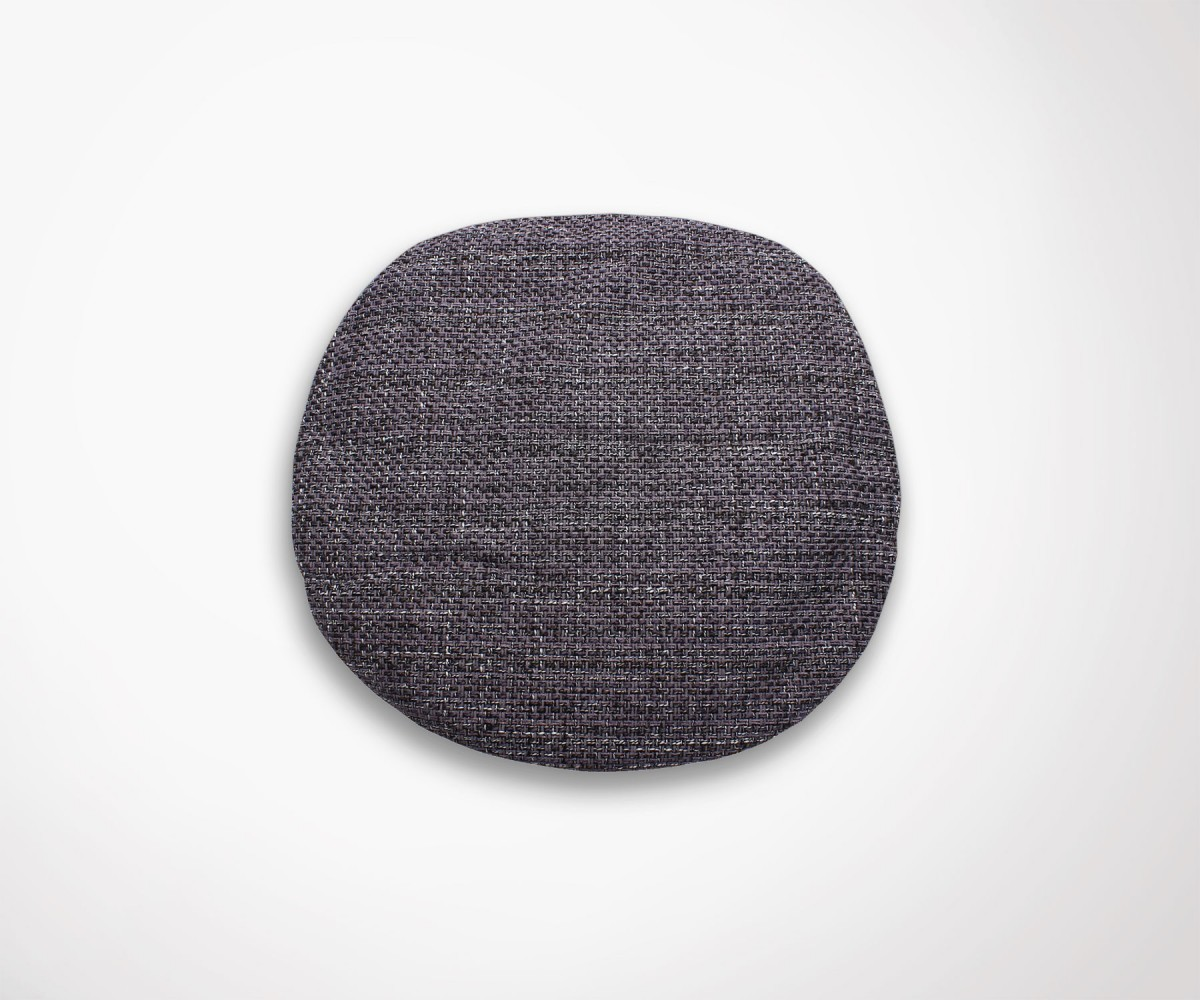 coussin fauteuil tulip effet tissu tricot haut de gamme. Black Bedroom Furniture Sets. Home Design Ideas