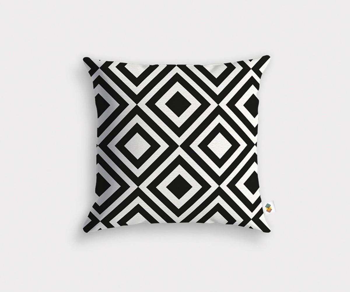 coussin haute qualit style graphique. Black Bedroom Furniture Sets. Home Design Ideas
