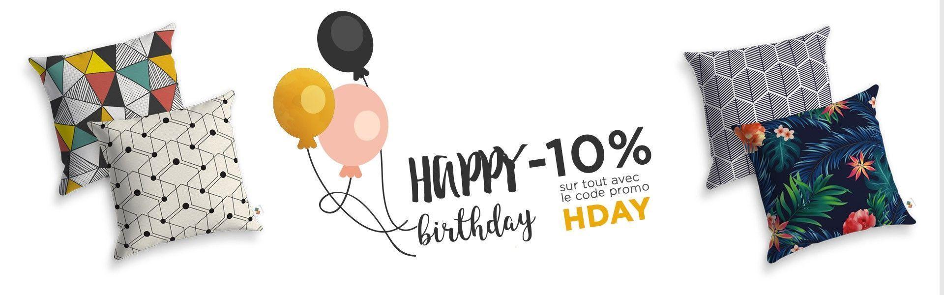 encart happy birthday HDC